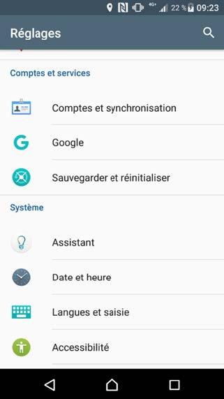 Configurer un compte exchange sur Android