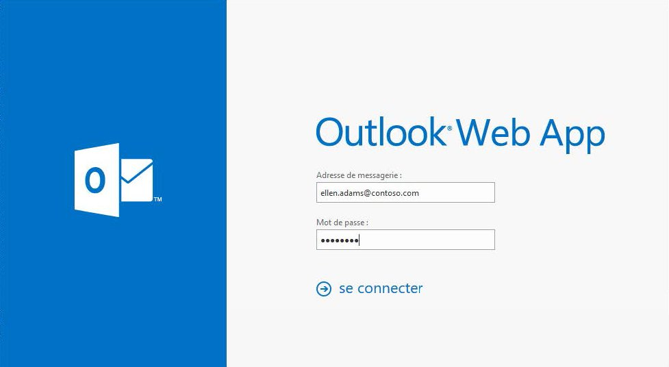 Définir un message d'absence à partir d'Outlook Web Access 1